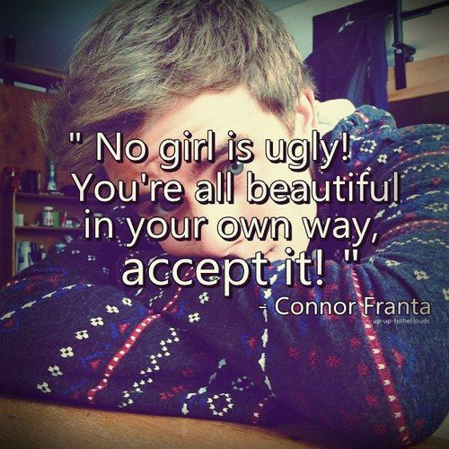 Connor Franta's wise words of the day!