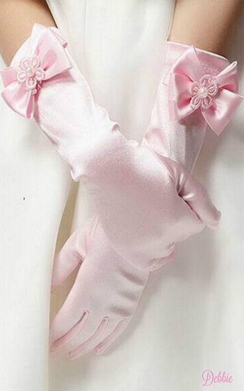 Pink gloves ~ Debbie ❤