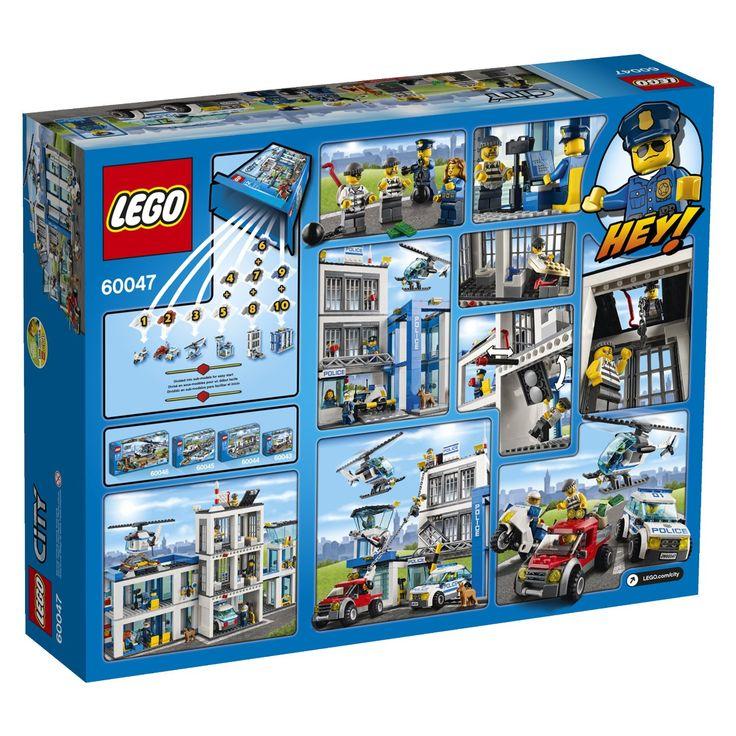 Amazon.com: LEGO City Police 60047 Police Station: Toys & Games