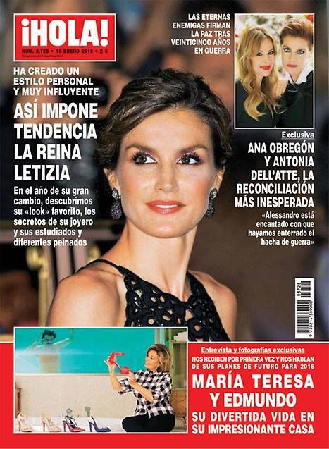 [ Ana Obregón & Antonia Dell'atte - ¡Hola! ]
