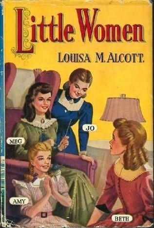 Little Women- Meg, Jo, Amy and Beth