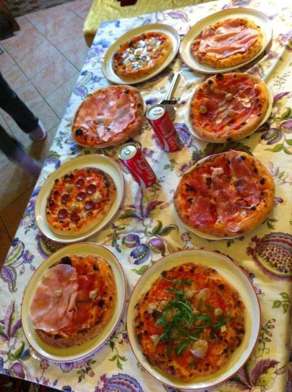 Pizzata party with friends!!! wonderful day***