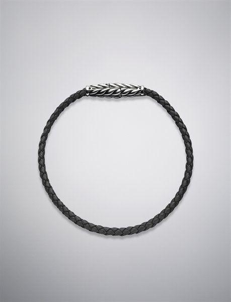 Ojime Bracelet, Black, 3mm