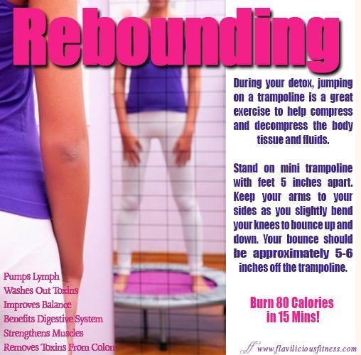 Fitness Tip Tuesday – Rebounding