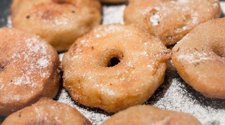 Beignets de pommes avec ou sans gluten - Croqueurs d'étincelles