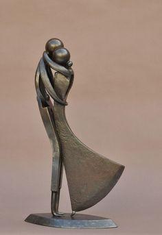 grand couple livre sculptures poterie sculpture et sculpture argile. Black Bedroom Furniture Sets. Home Design Ideas