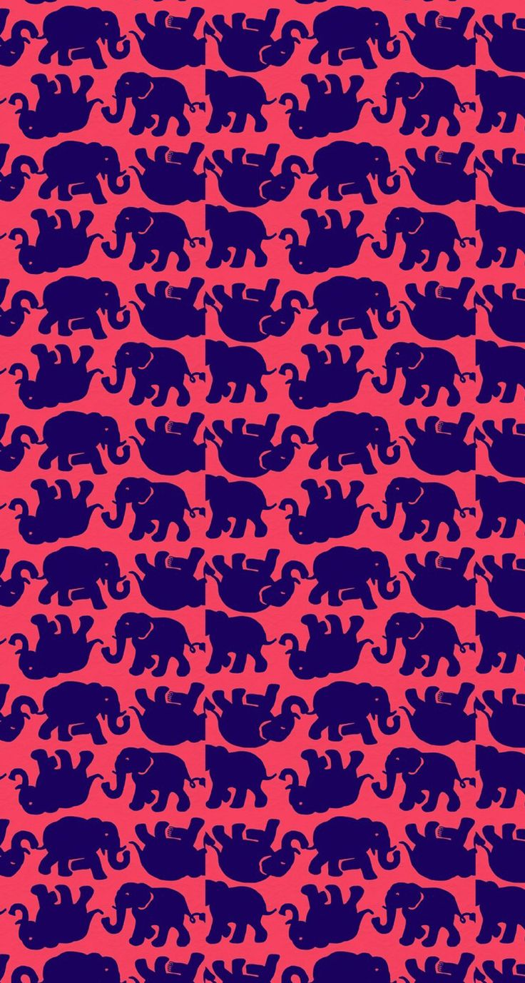 Lily Pulitzer design with elephants
