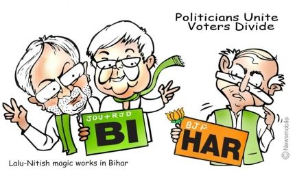 Can the BJP win the Bihar Assembly Elections 2015. What are the chances of different parties in #Biharelections  http://j.mp/mad1507141