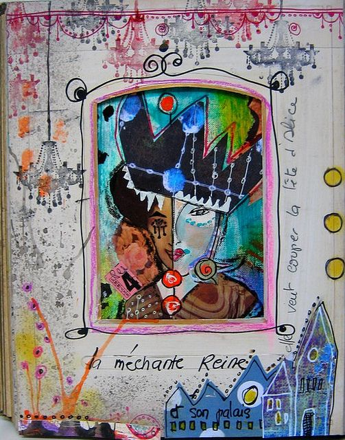 Alice ; la mechante reine by Francoise MELZANI, via Flickr