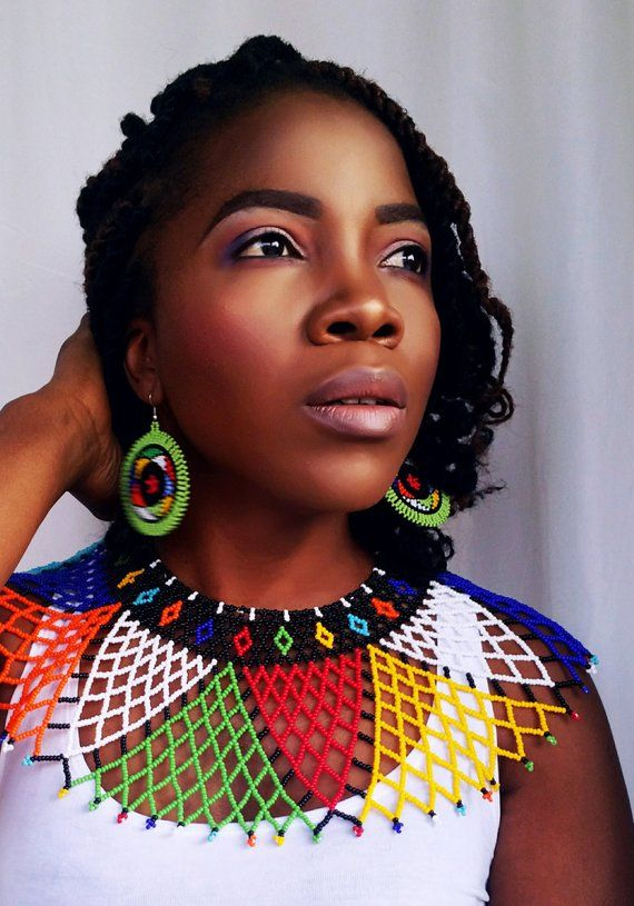 Zulu Beads In Rainbow Colours Products In 2019