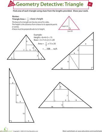 Slideshow: Geometry Detective: Triangle
