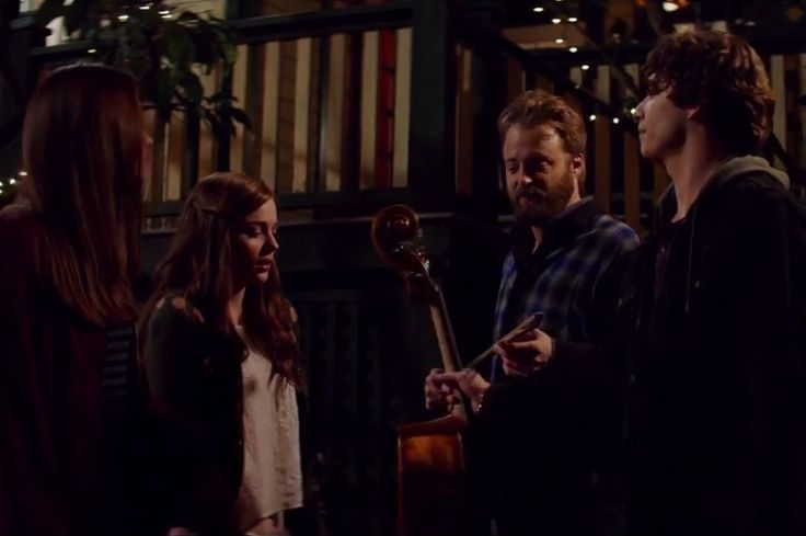 'If I Stay' movie - Chloë Grace Moretz and Jamie Blackley as Mia Hall and Adam Wilde