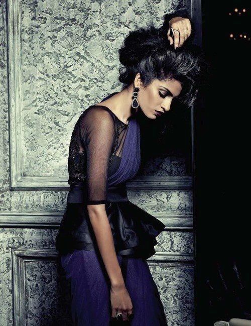 Tara Kurian for Harper's Bazaar India October 2012