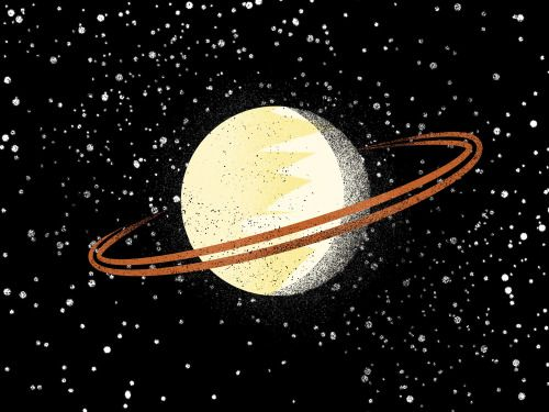 Saturn has about 150 moons and moonlets.