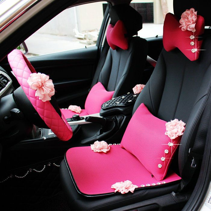 Pink Car Seat Covers - Carsoda - 1 $16 and freeshipping.