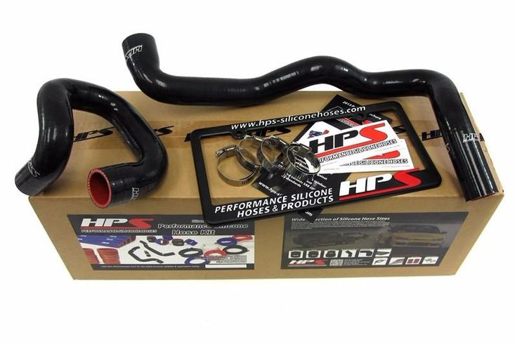 HPS Black 3-Ply Silicone Radiator Hose for Ford 2013 Focus ST Turbo 2.0L Coolant 13