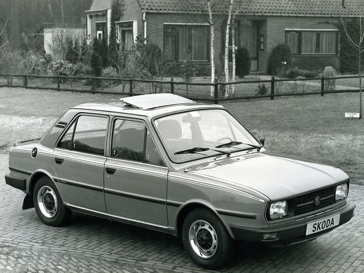 Škoda 105 L (Type 742) '08.1981–07.1983