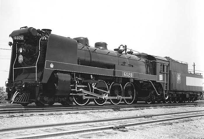 Photo of Canadian National 6028