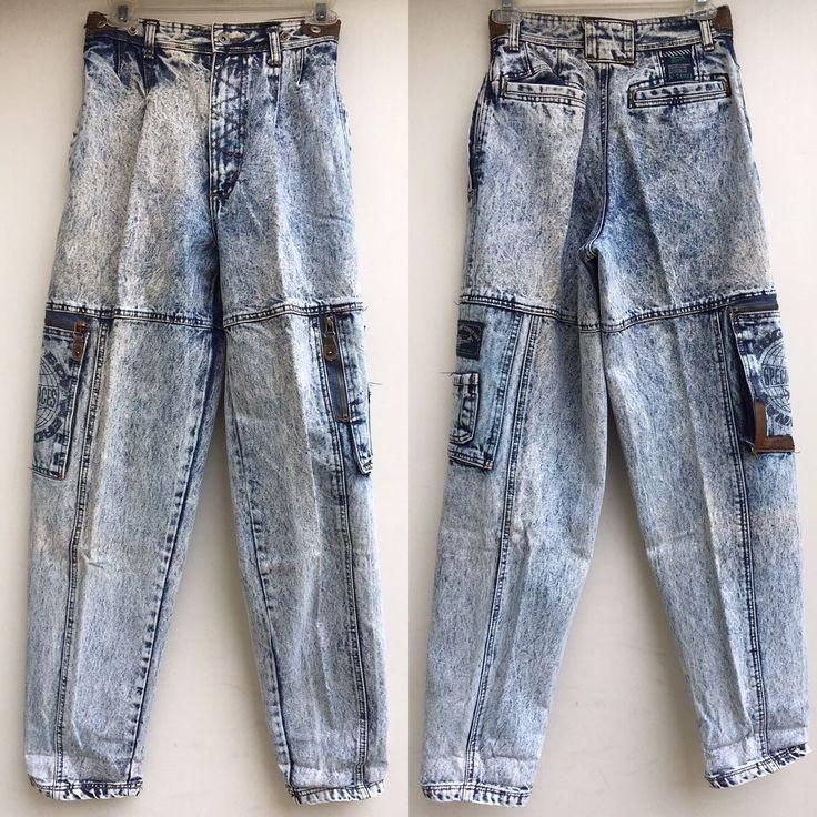 Bugle Boys Jeans Acid Washed
