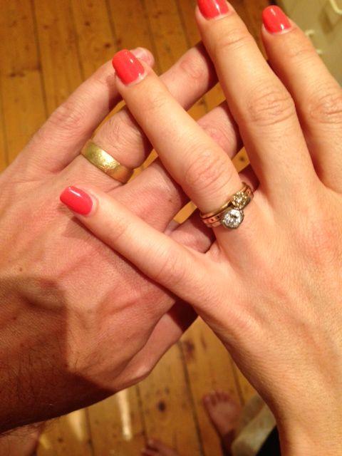 His & Her Wedding Rings