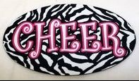 I'm a cheer type of girl