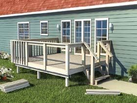 Diy Decks And Porch For Mobile Homes The How To Build