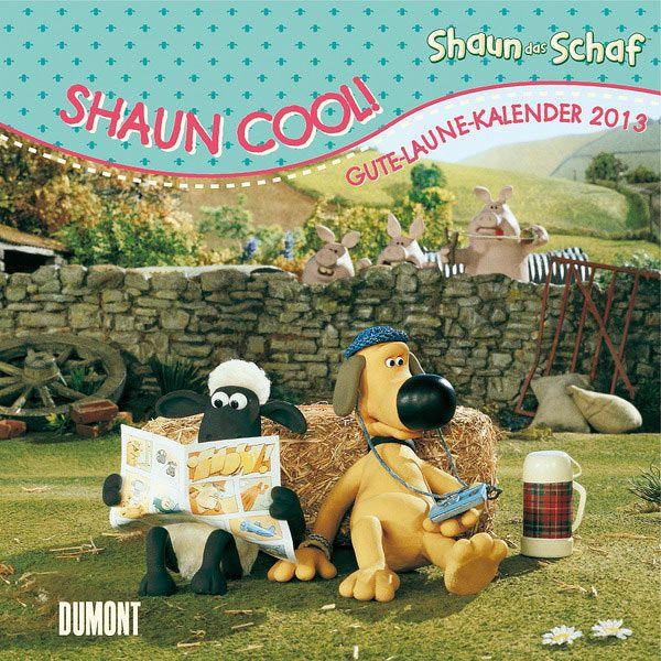 Calendario La Oveja Shaun, 2013 Calendario 2013 con la imagen de la Oveja Shaun y sus protagonistas, basados en la popular serie animada.
