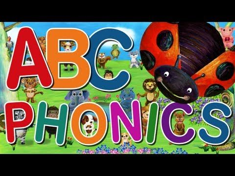 ABC Phonics Song - ABC Songs for Children - Kids Phonic Songs by The Learning Station - YouTube