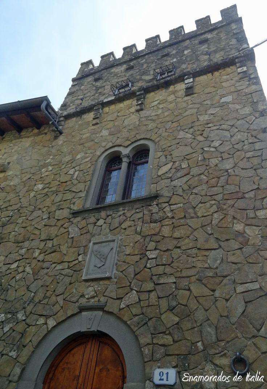 Casa natal de Amerigo Vespuccci en Montefioralle.