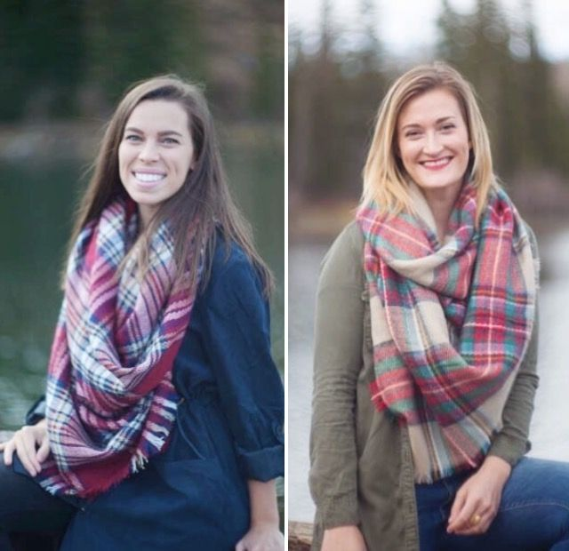 🔹The Juulee Scarf🔹    🔸Keep warm this fall with these beautiful blanket scarfs. This 53X53 checkered scarf can be worn so many different ways and with so many different outfits. This scarf can literally double as a blanket! It's not just about staying warm this cold season; it's also about looking good while doing it! Make your outfit a statement with one of these great Juulee scarfs. Available in beige andred.    🔸$25shipped.    🔸To purchase comment SOLD and your PayPal email address…
