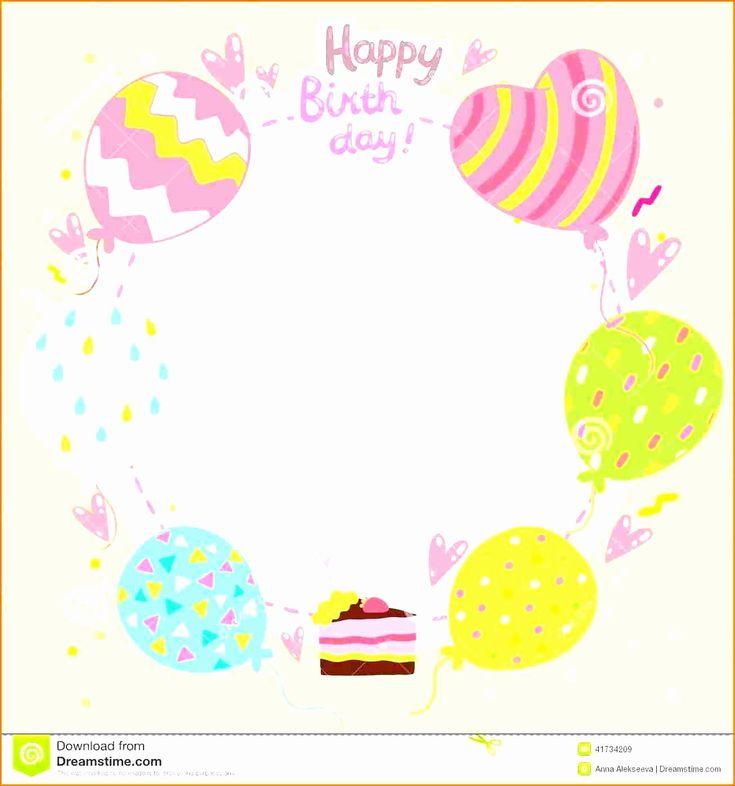 birthday invitation card template free elegant birthday