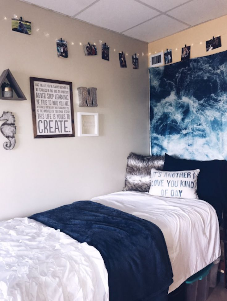 20 Insanely Cute Dorm Room Transformations To Try With Your Roommate Dorm Room Diy Dorm Room Designs Dorm Room Decor