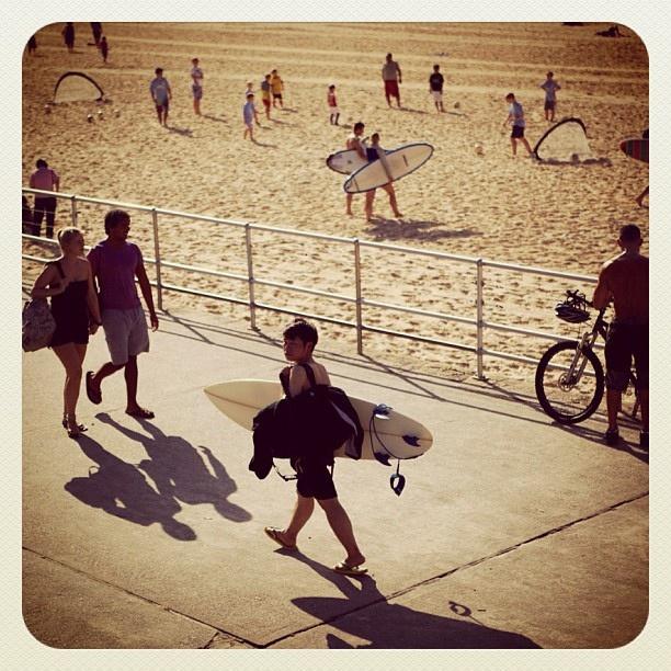 Bondi Beach Activity #activity #atbondi #bondi #beach #people #sydney #community #promenade #australia #lifestyle