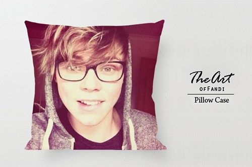 "Ashton Irwin 5SOS - Custom Square 18""x18"" One Side Pillow Case."
