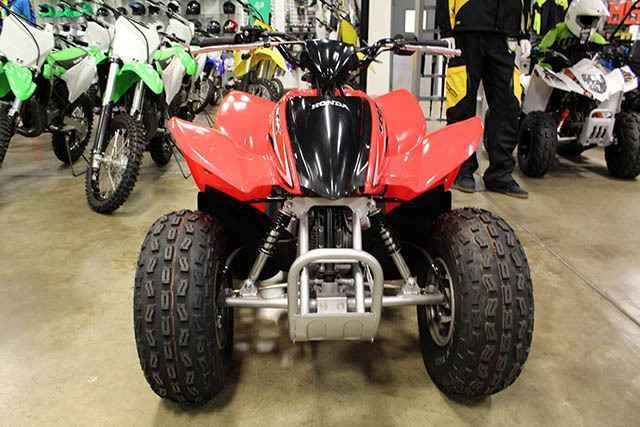 New 2016 Honda TRX90X ATVs For Sale in Texas. 2016 HONDA TRX90X, *MSRP does not include $395 in destination charges. Here at Louis Powersports we carry; Can-Am, Sea-Doo, Polaris, Kawasaki, Suzuki, Arctic Cat, Honda and Yamaha. Want to sell or trade your Motorcycle, ATV, UTV or Watercraft call us first! With lots of financing options available for all types of credit we will do our best to get you riding. Copy the link for access to financing. :// /financeapp.asp With HUNDREDS of vehicles