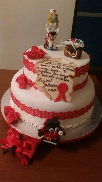 torta laurea infermieristica