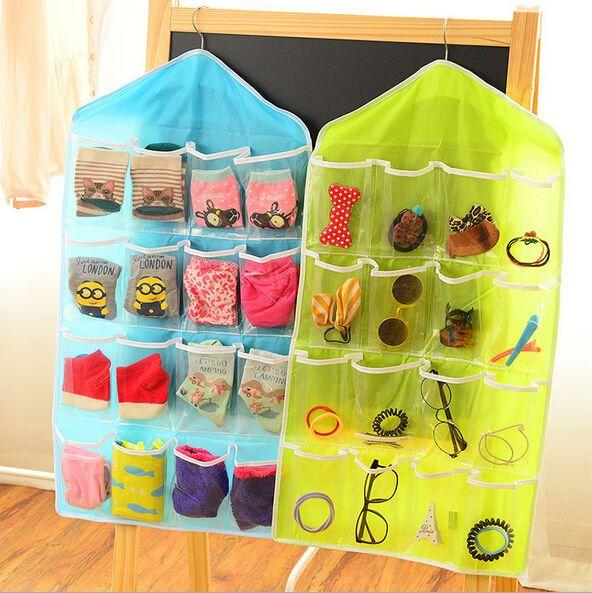 Многофункциональный носки косметическая игрушка белье сортировки хранения стены шкафов организатор сумка cajas organizadoras купить на AliExpress