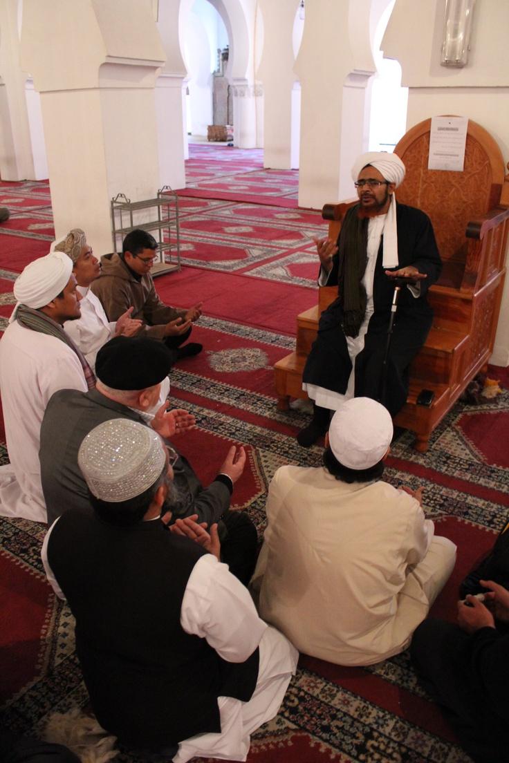 Khutba given by Habib Umar
