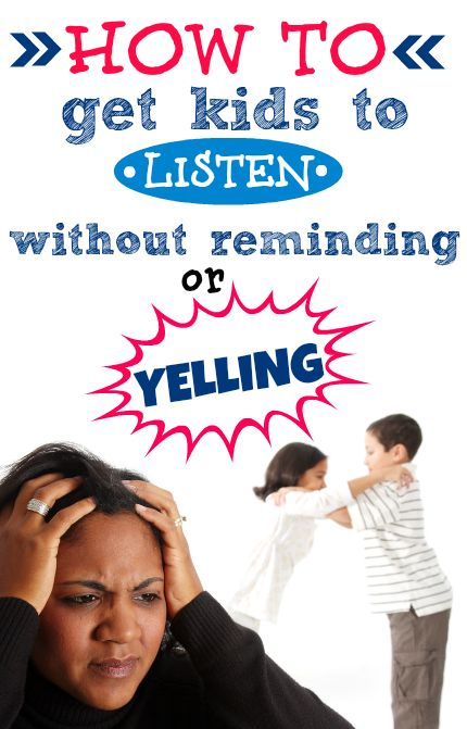 How to get kids to listen without YELLING! LOVE this!