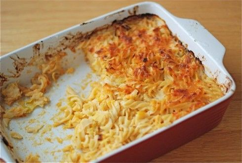 Baked Pasta with Cheddar & Leeks to Serve a Crowd {Naptime ...