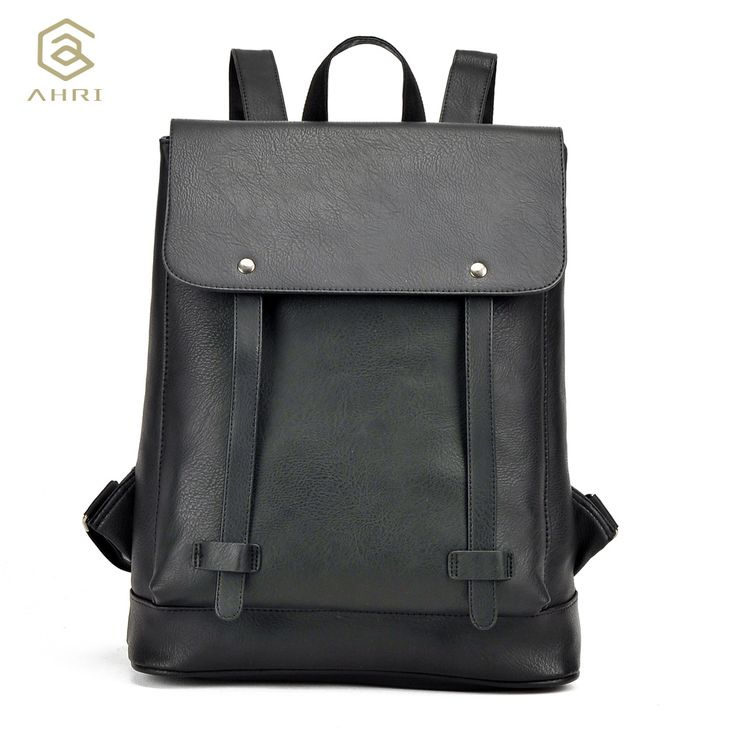 $19.84 (Buy here: https://alitems.com/g/1e8d114494ebda23ff8b16525dc3e8/?i=5&ulp=https%3A%2F%2Fwww.aliexpress.com%2Fitem%2FAHRI-Hot-sale-GRAY-PU-Leather-Men-s-Shoulder-Bags-Fashion-Men-Business-Casual-School-Boy%2F32791363596.html ) AHRI Hot sale GRAY PU Leather Men's Shoulder Bags Fashion Men Business Casual School Boy Backpack Vintage Backpacks for men 2017 for just $19.84