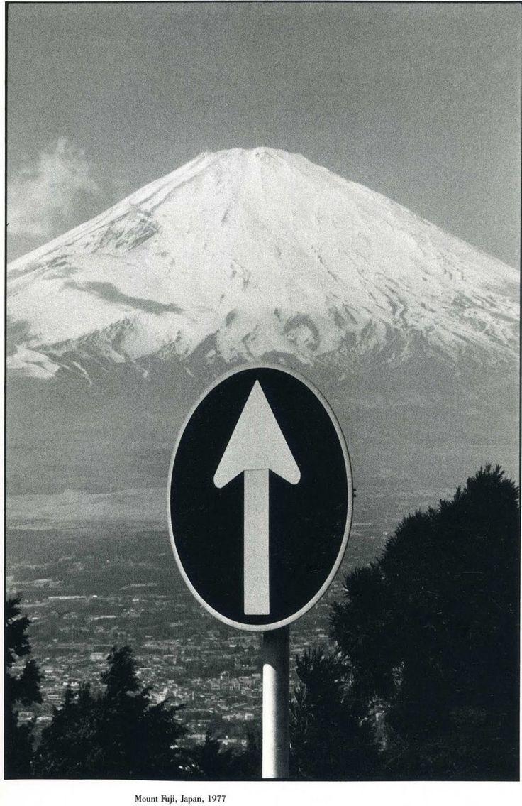 mount fuji, japan, 1977 • elliott erwitt: Photographers, Signs, Elliott Erwitt 1977, Japan, Elliot Erwitt, Photography Elliott Erwitt