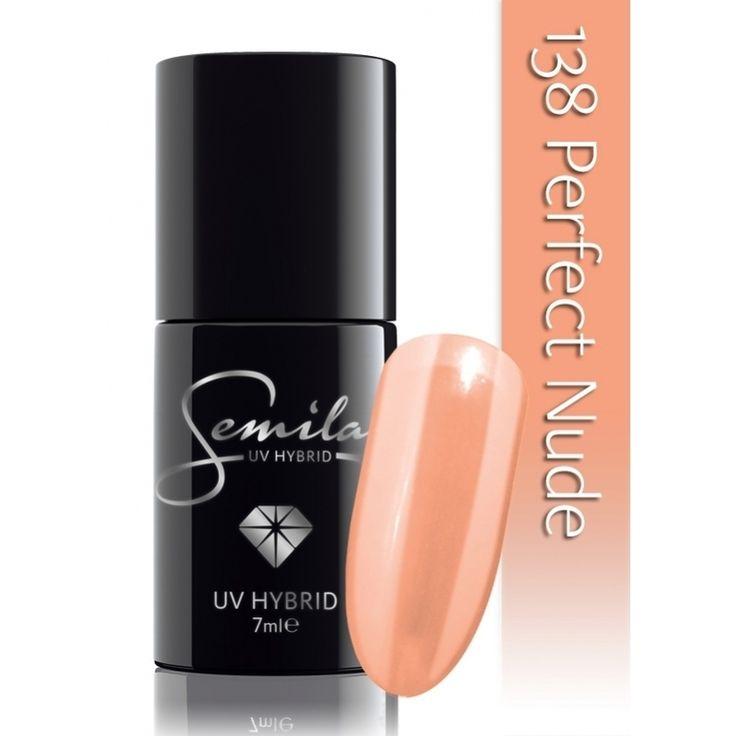 Ημιμόνιμο μανό Semilac - 138 Perfect Nude 7ml - Semilac | Προϊόντα Μανικιούρ - Πεντικιούρ Semilac & Ημιμόνιμα.