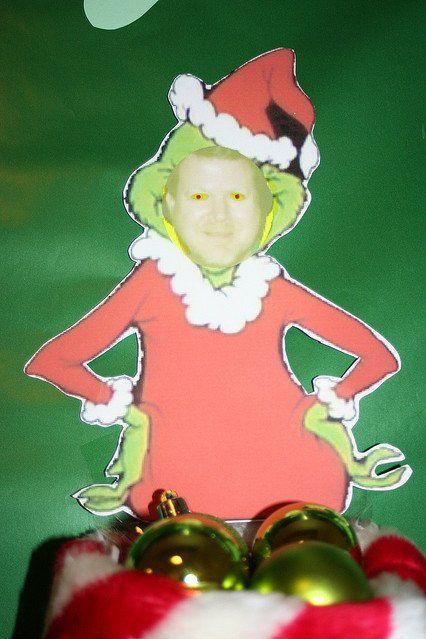 funny christmas door decorations ideas