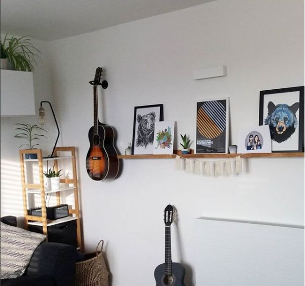 A3 Framed prints Scruffy Bear and Blue Bear - Original artwork by Luke Dixon