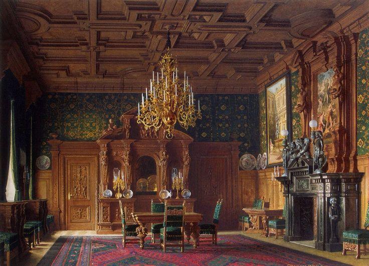 Luigi Premazzi Classic interior in watercolor