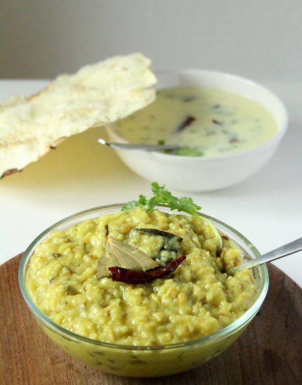 Khichdi Recipe, Gujarati Khichdi Recipe: A healthy rice & lentil dish served with kadhi, buttermilk. Easy khichidi recipe toor dal made in pressure cooker.