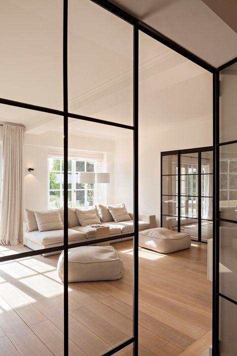 Hedendaagse renovatie van een klassieke villa