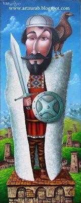 Naif painter Zurab Martiashvili: 2012