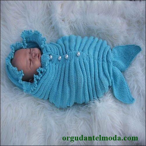 balık-şeklinde-örgü-bebek-tulumu